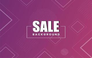 Verkauf abstrakten Hintergrund Banner