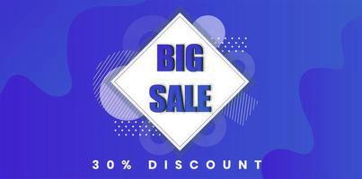 Rabatt-Hintergrunddesign des großen Verkaufs purpurrotes