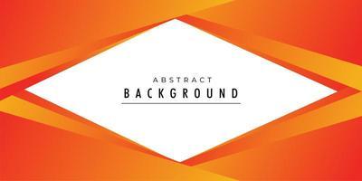 Hintergrund-Vektorplan des orange Verkaufs kreativer