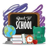 Tillbaka till skolmeddelandet på tavlan