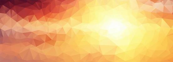 Moderner niedriger polygonaler Artentwurf. vektor