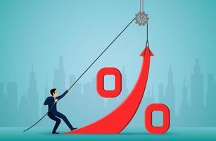 Business Investment-Konzept vektor