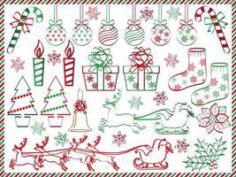 Weihnachten Elementsatz