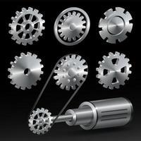 Realistisk industriell utrustning vektor