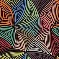 svart linje färgad i handritning