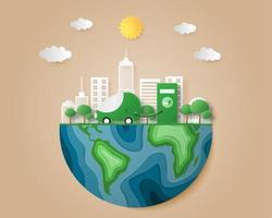 Umweltfreundliches Konzept