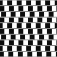 Geometrische optische Täuschung der Caféwand