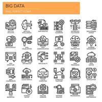 Big Data, Thin Line und Pixel Perfect Icons