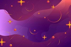 Retro- Zusammenfassung der rosa orange und purpurroten Steigung formt Hintergrund vektor