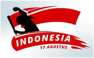 Indonesien Independence Day Hintergrund