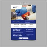 Medical Healthcare Flyer Entwurfsvorlage