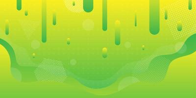 Hellgrüne und gelbe Steigungsflüssigkeit formt Hintergrund