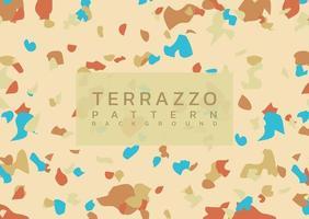 Terrazzo modern marmorbakgrund vektor