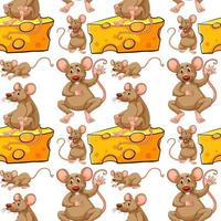 Sömlös mus- och ostskiva