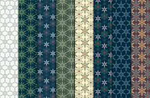 Weinlese-Weihnachtsnahtloses Muster