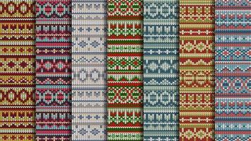 Vinter jumper sömlösa mönster vektor