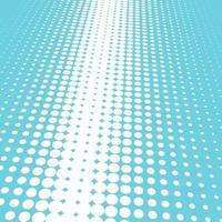 Blauer und weißer Halbtonhintergrund