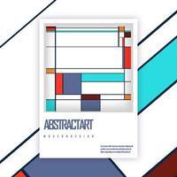 Broschüre Cover Vorlage