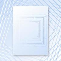Labyrinth Interieur Poster vektor