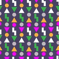 Retro- Design des Weinlesehintergrundes 80s vektor