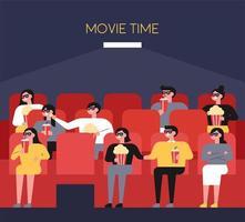 Leute im Theater vektor