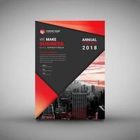 Mall för design för företagsaffär vektor