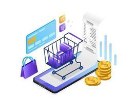 Onlinebetalning med mobiltelefon
