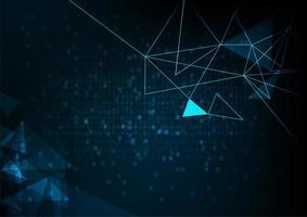 Teknologi mesh bakgrund med linjer och former
