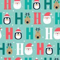Jul sömlösa mönster