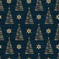 Weihnachtsbaum nahtlose Muster