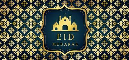 Eid islamischer Hintergrund