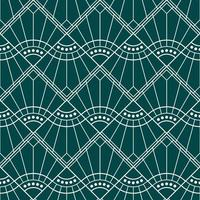 art deco enkel geometrisk diamantvågmönster