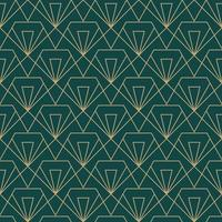 enkel sömlös art deco geometrisk diamantsnittmönster