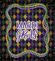 mardi gras halsband bollar till evenemang