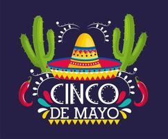 Cinco De Mayo gratulationskort