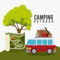 Camping, resor och semester