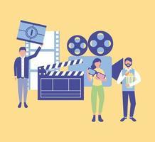Produktion von Filmleuten