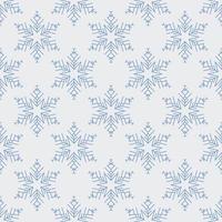 sömlös snöflinga mönster