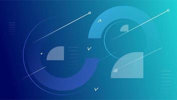 geometrischer Hintergrund der bunten minimalen Vektordesign-Zusammenfassung
