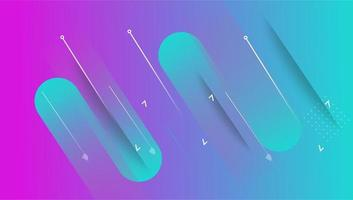 färgglada minimal abstrakt konst geometrisk bakgrund