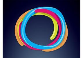 Bunte Logo-Vorlage