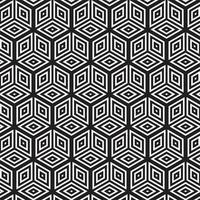 Moderner abstrakter geometrischer nahtloser Mustervektor vektor