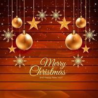 Julkortbakgrund med trätexturdesign