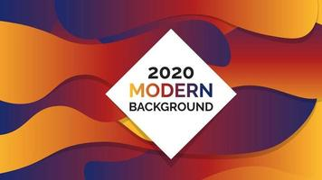 Abstrakter moderner Hintergrund-Design-Vektor