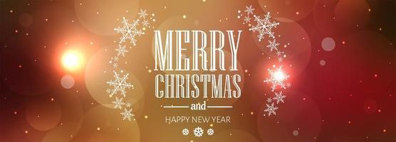 Kartenhintergrund-Fahnenvektor der frohen Weihnachten bunter