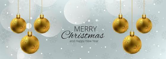 Färgglad banner för vektorbakgrund för god jul vektor
