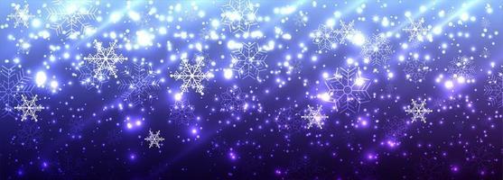 Schöner glänzender Funkelnfahnenhintergrund der frohen Weihnachten