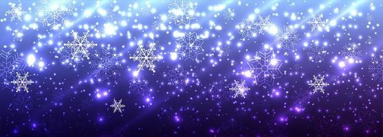 Vackra glänsande banerbakgrund för glatt jul glitter vektor