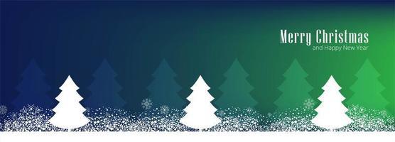 Frohe Weihnachten für Grußkartenplakat-Fahnendesign vektor