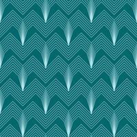 einfache nahtlose Art-Deco-geometrisches Muster mit abgewinkelten Linien vektor